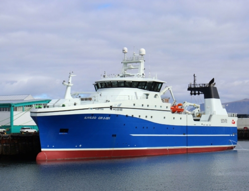 New trawler incorporating Kongsberg systems and Hedinn Protein Plant